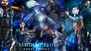 Resident Evil Revelations Wallpaper by AlbertXExcellaLover