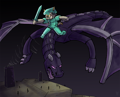 Ender Ownage by Tsebresos