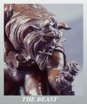 Beauty and the Beast bronze by ArtNomad