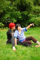 RinHaru cosplay by Shiera13