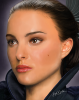 Padme - detail by JennDePaola