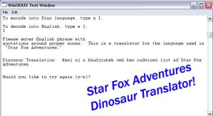 Dinosaur Language Translator by ninjkabat