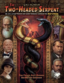Two-Headed Serpent cover by Pintureiro
