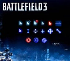 Battlefield 3 Cursor / busy, loading... by Stinkefuss
