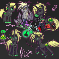 Arcade fire by Arcadeunicorn