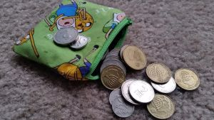 Green Adventure Time Coin Purse by augeeklectic