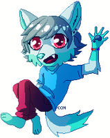 LOOK I PIXELED!!!! by TheRiversEdge