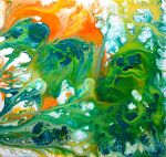 Fluid Painting 3 by wildwoodstudio