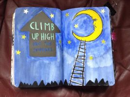 WTJ - Climb Up High And Drop The Journal by xxblackengelxx