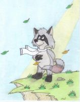 The  Raccoons:Ralph by fredvegerano