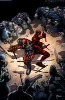Deadpool and Daredevil v2 by -seed-