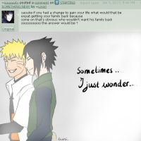 AskSasuke: What if you'd a chance to change? by Livori