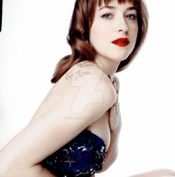 Dakota Johnson. by NinaDanvers