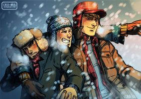 Winter Hats by Cris-Art