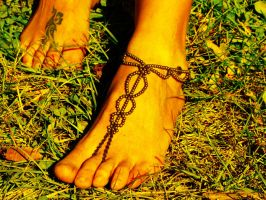 Gypsy Barefoot Sandal by noisypixie