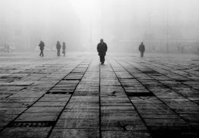 Fog in Turin 02 by Dicotomy