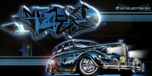 LowRidin' With Graff by SikWidInk