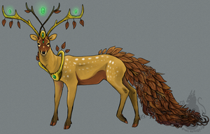 Key Deer D.C. by animalartist16