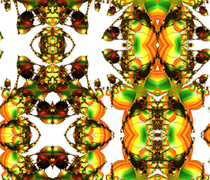 Seamless Pattern with Recursive Eggs (png) by PhotoComix2