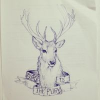 Ours is the fury pen sketch by SUNNYxAUTUMN