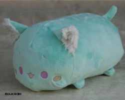 Mint Cat Tsum Tsum by Sou-kri