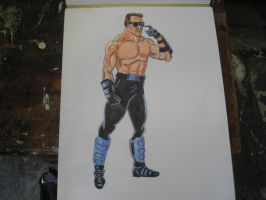.MKP Johnny Cage 1. by CRCstinger