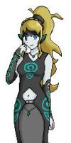 Twili Aselea pixel art by Aselea