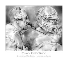 Coach Greg Wood and player by gregchapin
