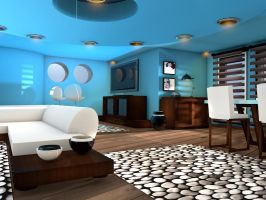 lounge suite modeling.C4D by BurakTOK