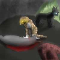 Cinderpelts death by warriorread13