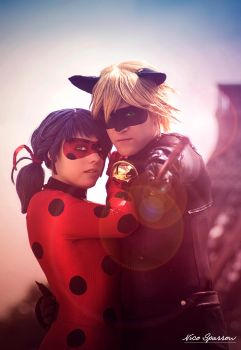 Ladybug et Chat Noir - Lovers Warriors by Legacy999