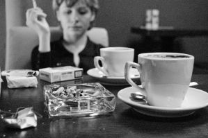 Coffee and Cigarettes no.2 by Wilczoor