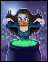 Magica the witch by Loony-Lucy