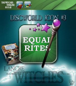 Discworld icon - Equal rites by DavidOssian