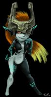 Imp Midna Quicksketch by Dargonite
