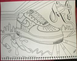 AF1 By Hand by annabenbrook