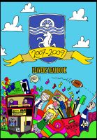 School leavers yearbook cover by dewone