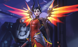 Mercy Devil Skin - Overwatch by PlanK-69