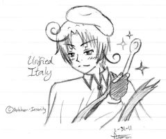 Unified Italy Doodle by animerocks4