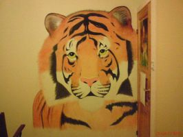 My Tiger On The Wall by Angelinka375