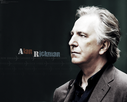 Alan Rickman - wallpaper 12 by transparentbird