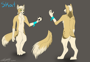 Skoit The Border Collie wolf by Fluskyy