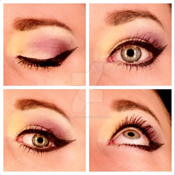 MUA: Purple and Yellow by CarbonStudios