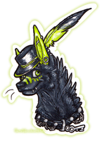 Poison Badge by Equive
