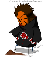Chibi - Tobi by cresent-lunette