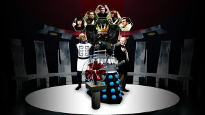 The Daleks' Master Plan wallpaper by Hisi79