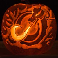 MSUM Dragon Pumpkin by Crasio