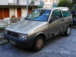 1989 Autobianchi Y10 Fire by GladiatorRomanus