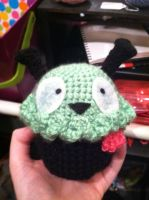 Amigurumi Gir Cupcake by NerdStitch