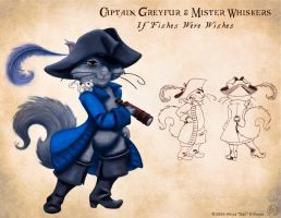 Captain Greyfur v2 by KatGirlStudio